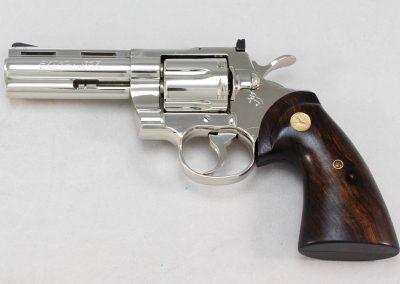 Colt Python .357 Magnum, Nickel 4 2