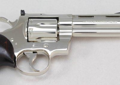 Colt Python .357 Magnum, Nickel 4 3
