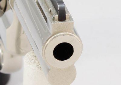 Colt Python .357 Magnum, Nickel 4 4