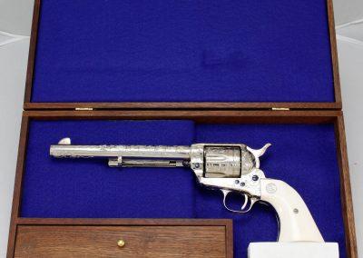 Colt SAA 2nd Gen NRA Centennial, Engraved 1_