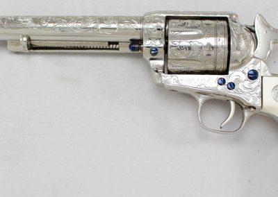 Colt SAA 2nd Gen NRA Centennial, Engraved 2