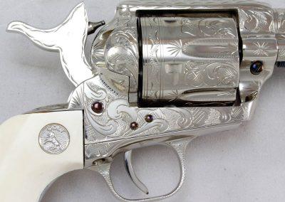 Colt SAA 2nd Gen NRA Centennial, Engraved 3