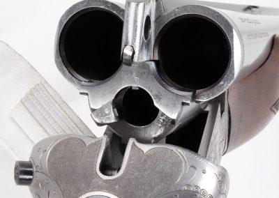 Colt-Sauer Model 3000 Drilling 12ga - 243 Win 8