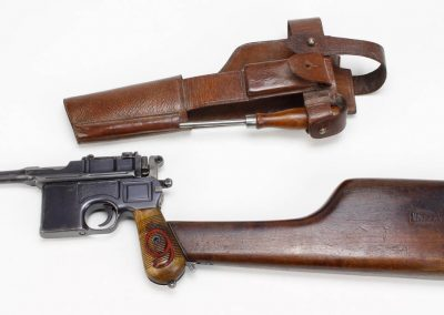 Mauser C-96 Red 9 1916 Prussian Contract 1