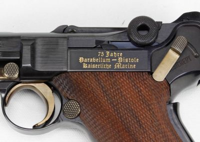 Mauser Luger 75 Year Imperial Marine Commemorative 3