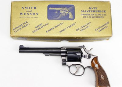 S&W K-22 Masterpiece Early Model 1
