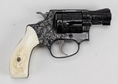 S&W Model 36 Engraved 3