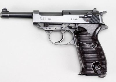 Walther P-38 480 First Military Contract 1