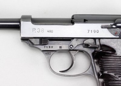 Walther P-38 480 First Military Contract 2