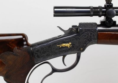 Winchester 1885 Low Wall Engraved 4