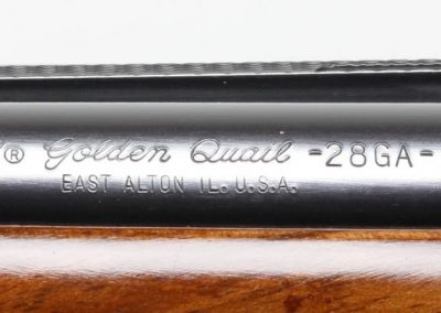Winchester Model 23 Golden Quail 1 of 500 28 Ga 8